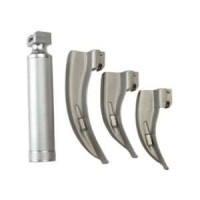 Laryngoscope 3 Blades with Handle