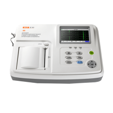 Biolight E30 3 channel ECG with interpretation 80mm printer - BIOE30