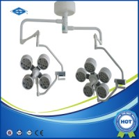 shadow less Ceiling Type Double Head LED Operation Surgical Lights (YD02-LED4+5)